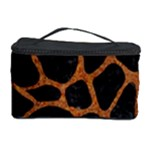 SKIN1 BLACK MARBLE & RUSTED METAL Cosmetic Storage Case