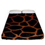 SKIN1 BLACK MARBLE & RUSTED METAL Fitted Sheet (King Size)