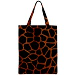 SKIN1 BLACK MARBLE & RUSTED METAL Zipper Classic Tote Bag