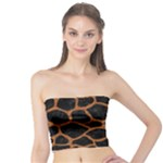 SKIN1 BLACK MARBLE & RUSTED METAL Tube Top