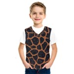 SKIN1 BLACK MARBLE & RUSTED METAL Kids  SportsWear