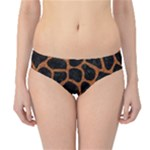 SKIN1 BLACK MARBLE & RUSTED METAL Hipster Bikini Bottoms