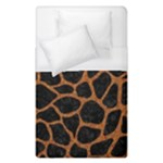SKIN1 BLACK MARBLE & RUSTED METAL Duvet Cover (Single Size)