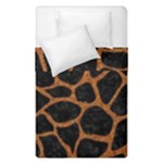 SKIN1 BLACK MARBLE & RUSTED METAL Duvet Cover Double Side (Single Size)