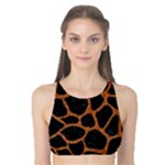 SKIN1 BLACK MARBLE & RUSTED METAL Tank Bikini Top