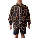SKIN1 BLACK MARBLE & RUSTED METAL Wind Breaker (Kids)