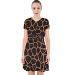 SKIN1 BLACK MARBLE & RUSTED METAL Adorable in Chiffon Dress
