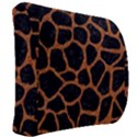 SKIN1 BLACK MARBLE & RUSTED METAL Back Support Cushion View2
