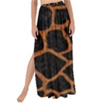 SKIN1 BLACK MARBLE & RUSTED METAL Maxi Chiffon Tie-Up Sarong