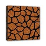 SKIN1 BLACK MARBLE & RUSTED METAL (R) Mini Canvas 6  x 6