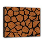 SKIN1 BLACK MARBLE & RUSTED METAL (R) Canvas 14  x 11
