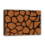 SKIN1 BLACK MARBLE & RUSTED METAL (R) Deluxe Canvas 18  x 12