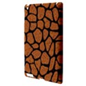 SKIN1 BLACK MARBLE & RUSTED METAL (R) Apple iPad 3/4 Hardshell Case View3