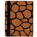 SKIN1 BLACK MARBLE & RUSTED METAL (R) Apple iPad Mini Flip Case View3