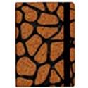 SKIN1 BLACK MARBLE & RUSTED METAL (R) iPad Air Flip View2