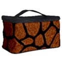 SKIN1 BLACK MARBLE & RUSTED METAL (R) Cosmetic Storage Case View2