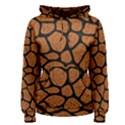SKIN1 BLACK MARBLE & RUSTED METAL (R) Women s Pullover Hoodie View1