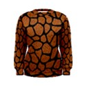 SKIN1 BLACK MARBLE & RUSTED METAL (R) Women s Sweatshirt View1