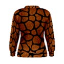 SKIN1 BLACK MARBLE & RUSTED METAL (R) Women s Sweatshirt View2