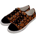 SKIN1 BLACK MARBLE & RUSTED METAL (R) Men s Low Top Canvas Sneakers View2