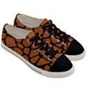 SKIN1 BLACK MARBLE & RUSTED METAL (R) Men s Low Top Canvas Sneakers View3