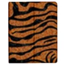 SKIN2 BLACK MARBLE & RUSTED METAL Apple iPad 3/4 Flip Case View1