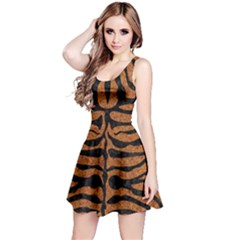SKIN2 BLACK MARBLE & RUSTED METAL Reversible Sleeveless Dress
