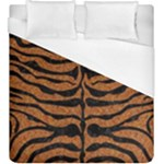 SKIN2 BLACK MARBLE & RUSTED METAL Duvet Cover (King Size)