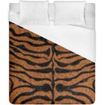 SKIN2 BLACK MARBLE & RUSTED METAL Duvet Cover (California King Size)