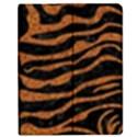 SKIN2 BLACK MARBLE & RUSTED METAL (R) Apple iPad 2 Flip Case View1