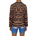 SKIN2 BLACK MARBLE & RUSTED METAL (R) Kids  Long Sleeve Swimwear View2