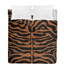 SKIN2 BLACK MARBLE & RUSTED METAL (R) Duvet Cover Double Side (Full/ Double Size)