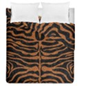SKIN2 BLACK MARBLE & RUSTED METAL (R) Duvet Cover Double Side (Queen Size) View1
