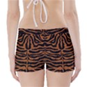 SKIN2 BLACK MARBLE & RUSTED METAL (R) Boyleg Bikini Wrap Bottoms View2