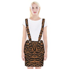 Skin2 Black Marble & Rusted Metal (r) Braces Suspender Skirt