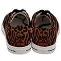 SKIN2 BLACK MARBLE & RUSTED METAL (R) Men s Low Top Canvas Sneakers View4