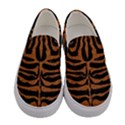 SKIN2 BLACK MARBLE & RUSTED METAL (R) Women s Canvas Slip Ons View1