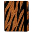SKIN3 BLACK MARBLE & RUSTED METAL Apple iPad 2 Flip Case View2