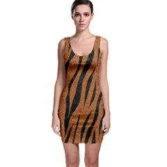 SKIN3 BLACK MARBLE & RUSTED METAL Bodycon Dress