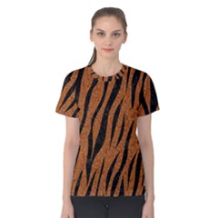SKIN3 BLACK MARBLE & RUSTED METAL Women s Cotton Tee