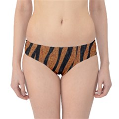 Skin3 Black Marble & Rusted Metal Hipster Bikini Bottoms by trendistuff