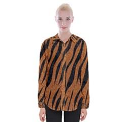 Skin3 Black Marble & Rusted Metal Womens Long Sleeve Shirt by trendistuff