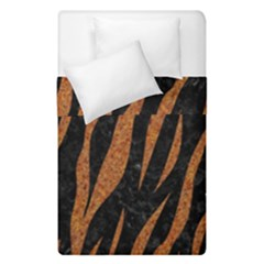 Skin3 Black Marble & Rusted Metal (r) Duvet Cover Double Side (single Size) by trendistuff