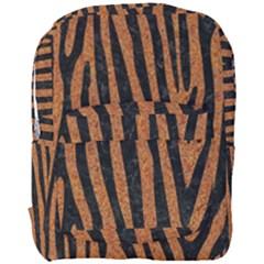 Skin4 Black Marble & Rusted Metal (r) Full Print Backpack by trendistuff