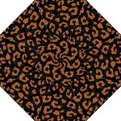Skin5 Black Marble & Rusted Metal Golf Umbrellas by trendistuff