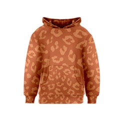 Autumn Animal Print 3 Kids  Pullover Hoodie by tarastyle
