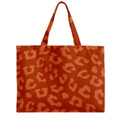 Autumn Animal Print 3 Zipper Mini Tote Bag by tarastyle