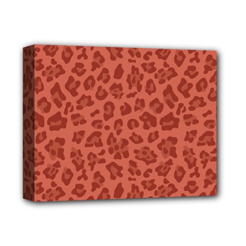 Autumn Animal Print 4 Deluxe Canvas 14  X 11  by tarastyle