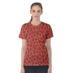 Autumn Animal Print 4 Women s Cotton Tee by tarastyle