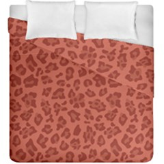 Autumn Animal Print 4 Duvet Cover Double Side (king Size) by tarastyle